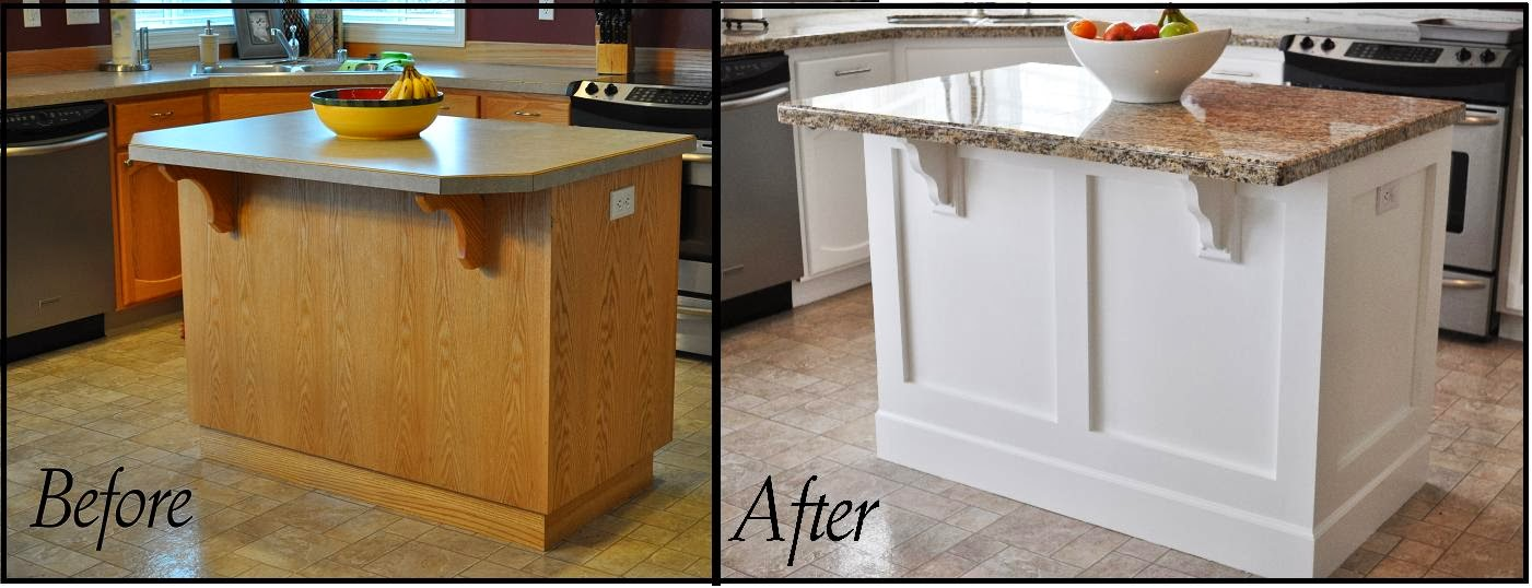 Wonderful Kitchen Island Makeover