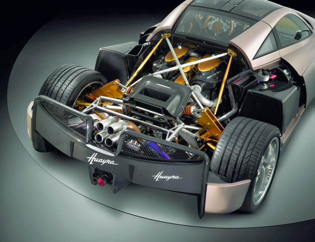 Pagani Huayra Engine