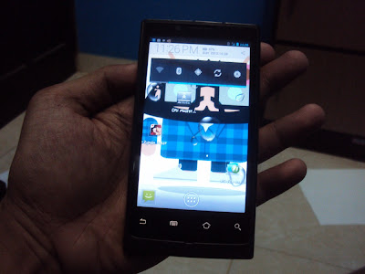 Download Room OS ICS Ice Cream Sandwich Dan Review Android Bluberry Mi140