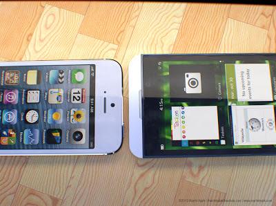 Blackberry 10 Atau New Iphone 5
