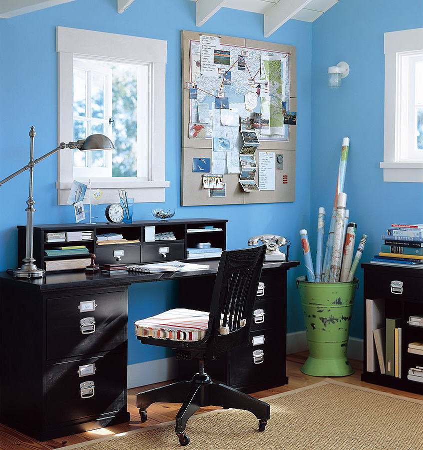 Delightful Home Office Interior Design Inspiration