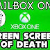 xbox one : Green Screen of Deat