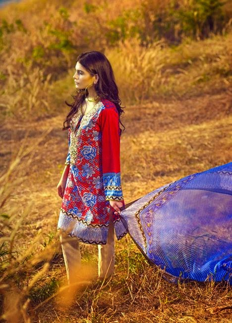 Sana safinaz embroidered collection 2015