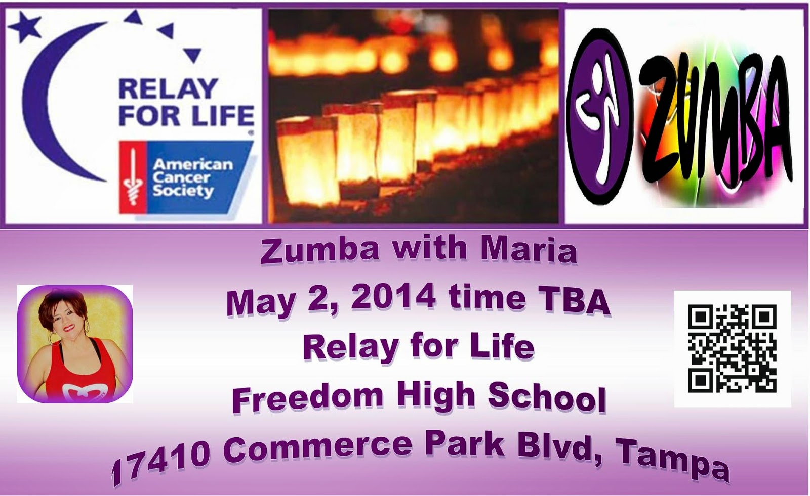 Welcome zumba lovers of new tampa florida the wesley for Relay for life flyer template