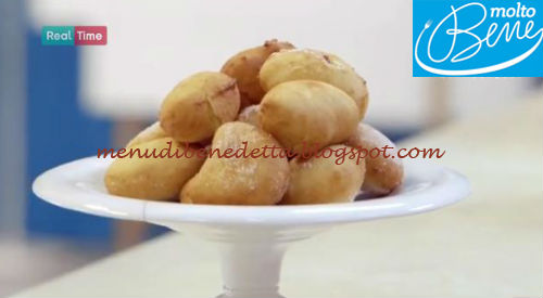 Mini krapfen alla marmellata ricetta Parodi per Molto Bene