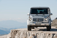 2012 New Mercedes G350 BlueTEC revised upgrade refresh restyled change generation official press source original off-road