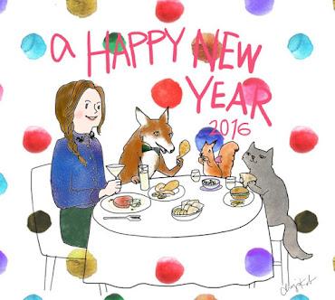 Buon 2016, l'anno dello scoiattolo!