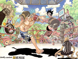franky one piece wallpaper strawhat mugiwara pirate anime