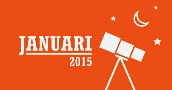 Wajib Lihat! Inilah Daftar Peristiwa Astronomis Sepanjang Januari 2015