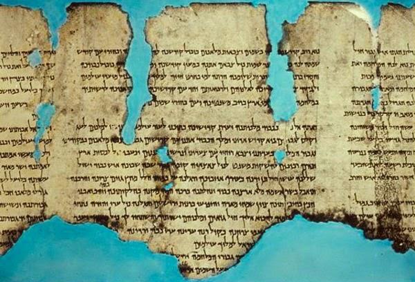 Naskah Laut Mati, naskah perang