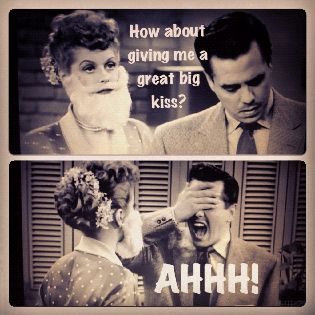 Funny Quotes I Love Lucy : Both Ricky and Desi loved the feminine Lucy. Ha ha!