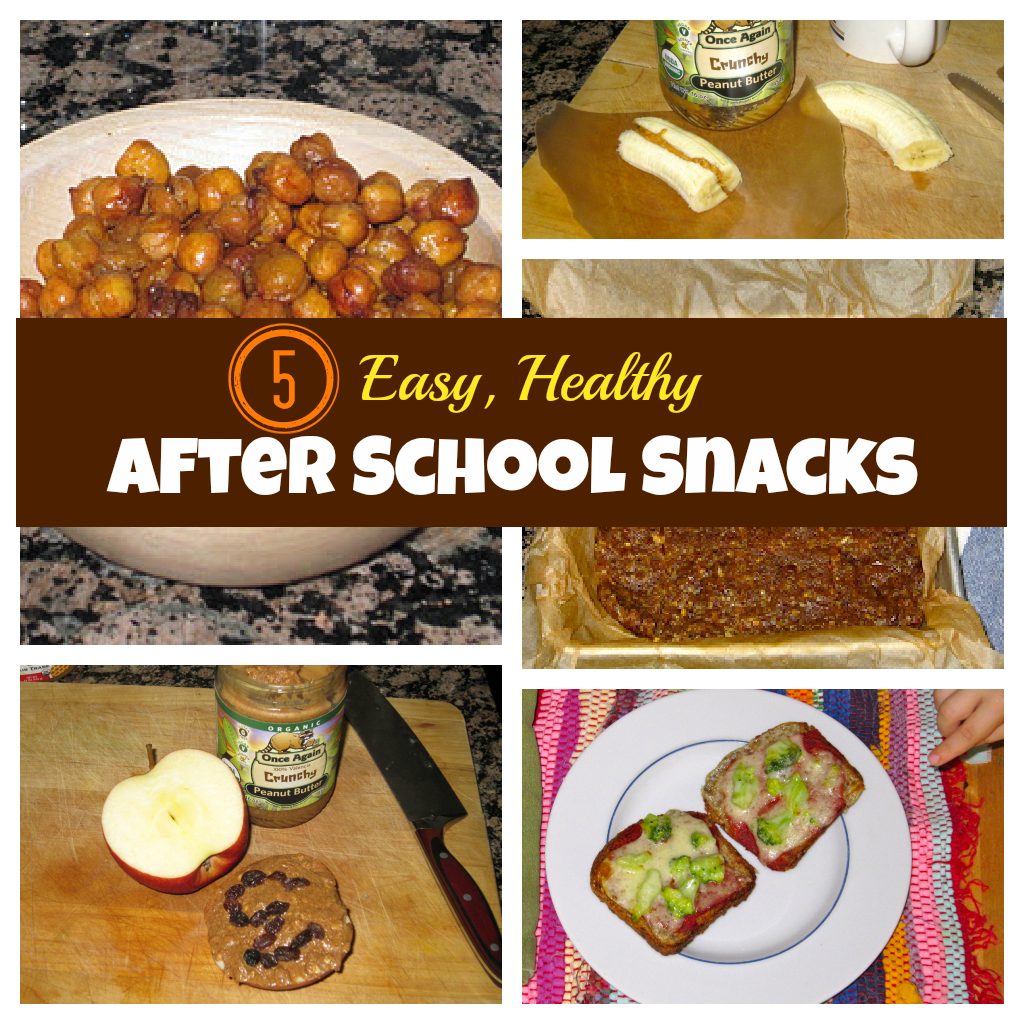 Easy healthy after school snacks for How to make homemade healthy snacks