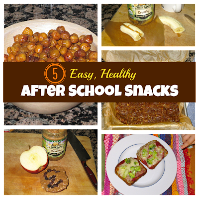 Easy, Healthy After School Snacks