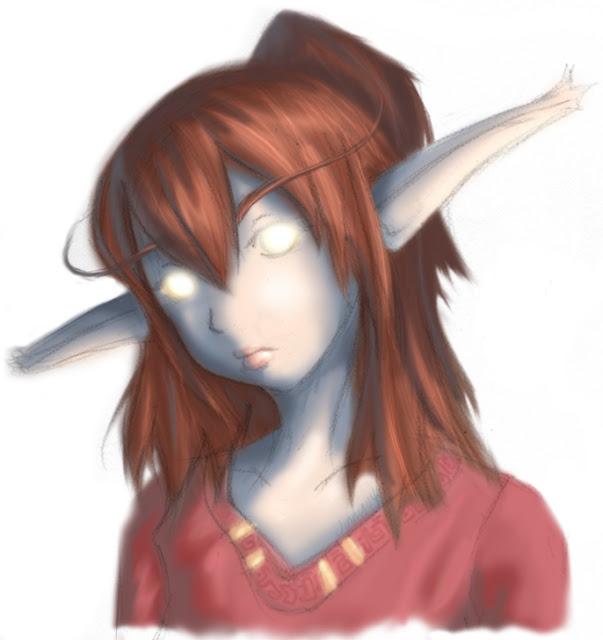 WoW: night elf druid por jinnybear