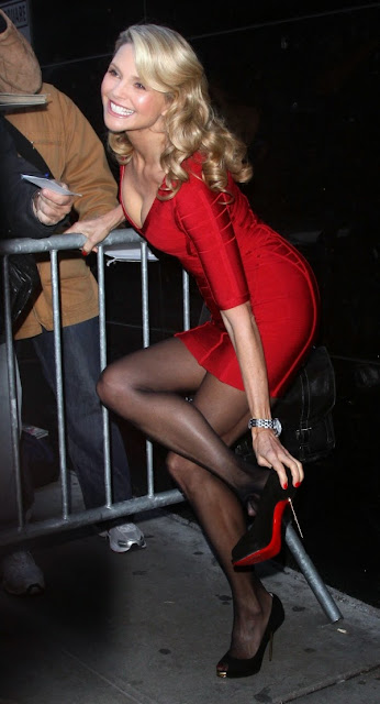 Christie Brinkley still has sexy legs at 60