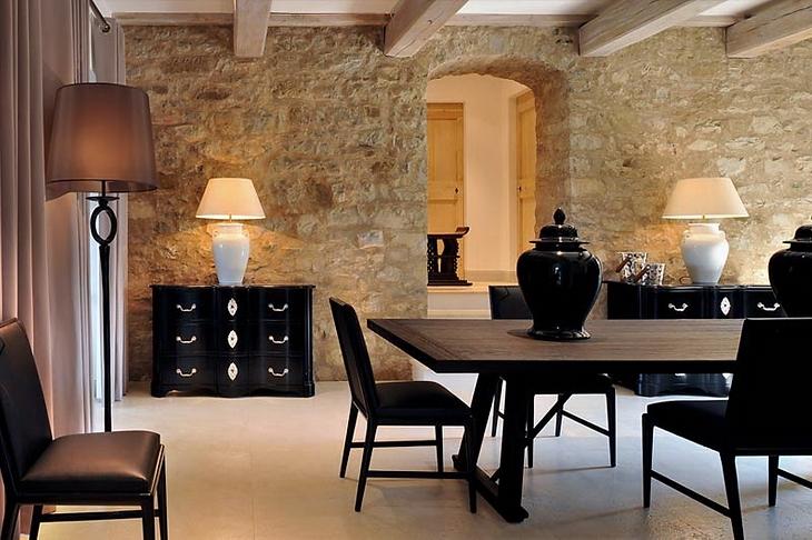 decoracion interiores departamentos rusticos:ESTILO RUSTICO: CASA RUSTICA EN ITALIA