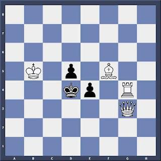 Échecs & Tactique : les Blancs jouent et matent en 2 coups - Niveau Moyen