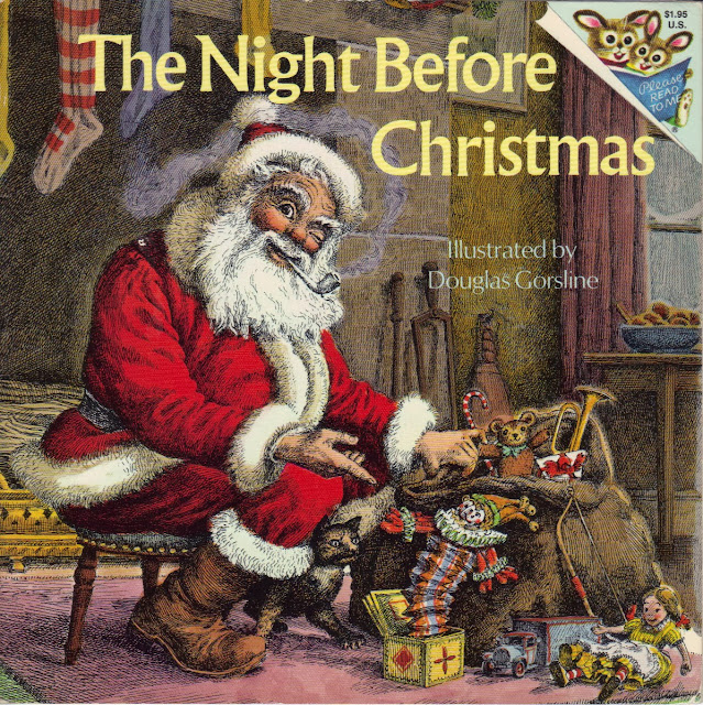 Illustrated Book Cover Quest : The night before christmas illustrated by douglas