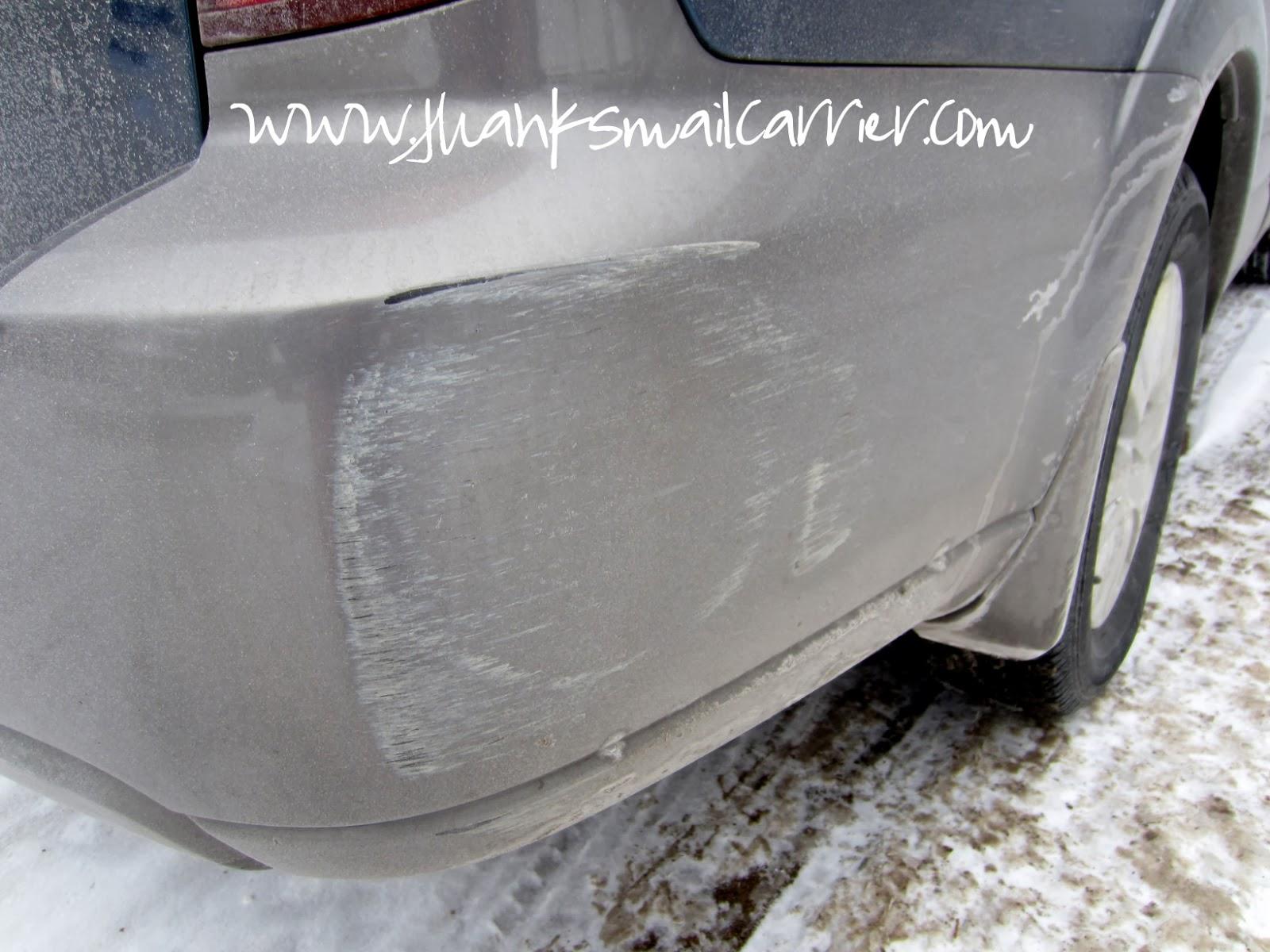 car scrape