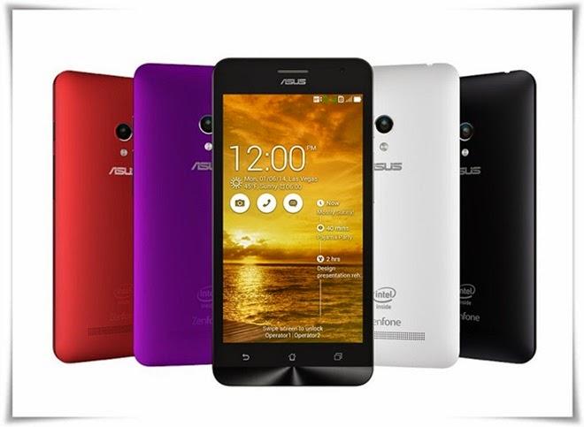 Spesifikasi Asus Zenfone 5 (A500CG)