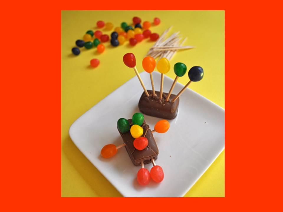 Cmo hacer dulceros infantiles las manualidades share the - Como hacer figuras con chuches ...
