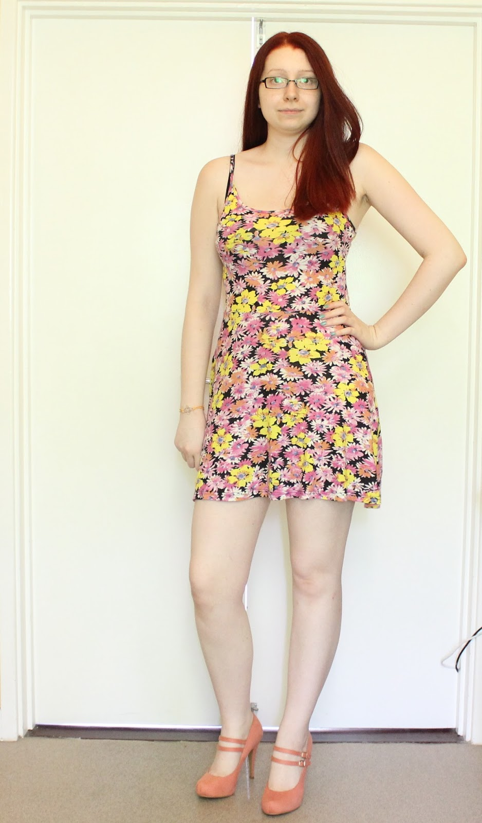 Outfit: Floral Dress