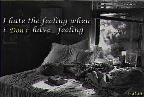 feeling :/