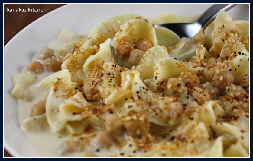 ... Tahini Soup), Creamy Noodles for Souper (Soup, Salad & Sammie) Sundays