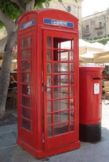 Cabina roja en Malta