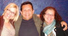 S.Zanquim, Wagninho e Eliana Guimarães from Canadian