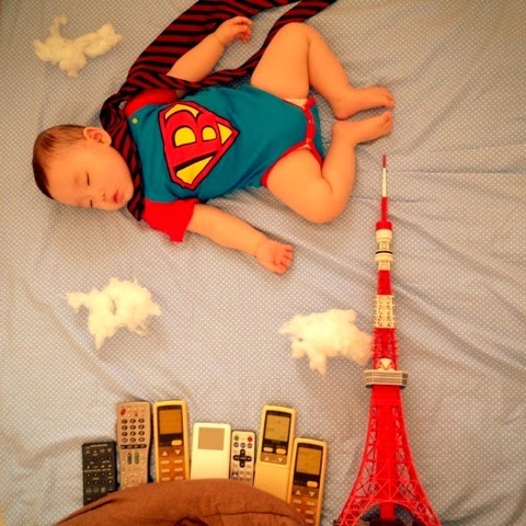 niños japoneses durmiendo 2