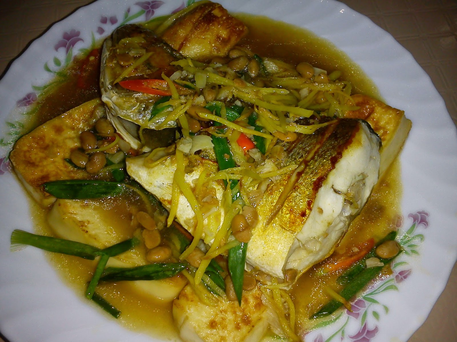 Cooking Pleasure Nyonya Chien Chuan Hu Fried Fish With