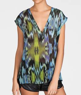 V-neck top  by Rori Beca