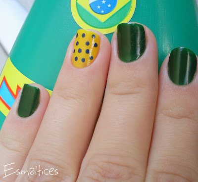 unhas decoradas para a copa do mundo 2014