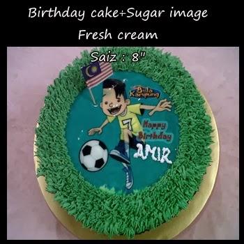 Birthday kek-Edible Image