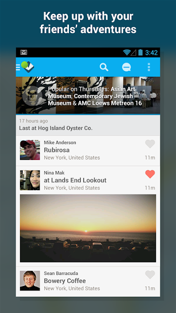 Foursquare Android Apk resimi 8