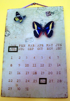 thats the way the cookie crumbles, calendar, calender, butterflies, chic, home, home furnishings