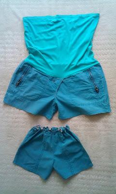 materinty shorts DIY