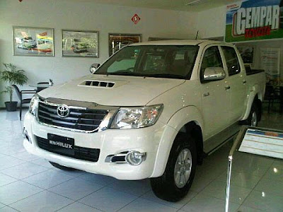 new hilux 2012