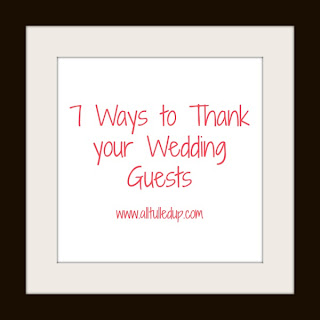 Thank your Wedding Guests