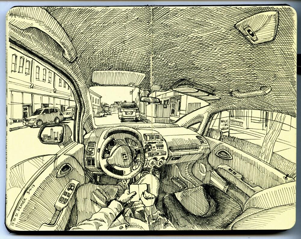 01-Paul-Heaston-Moleskine-Drawings-Points-of-View-www-designstack-co