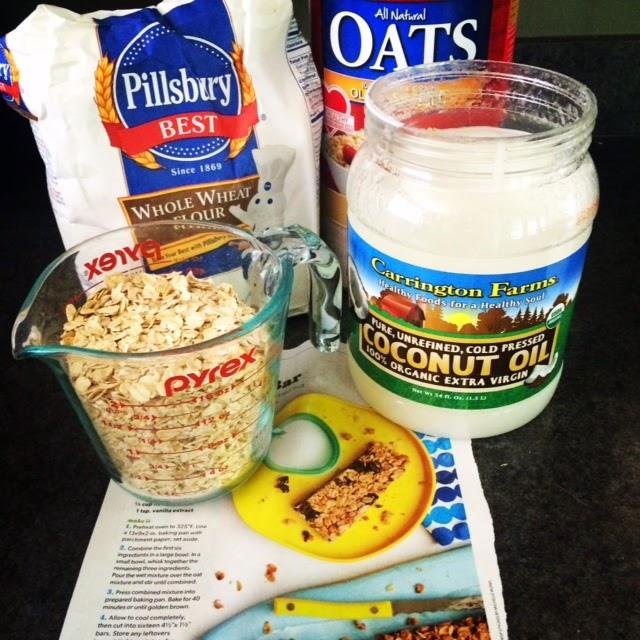 Honeybee Homemaker: Oats & Honey Granola Bars