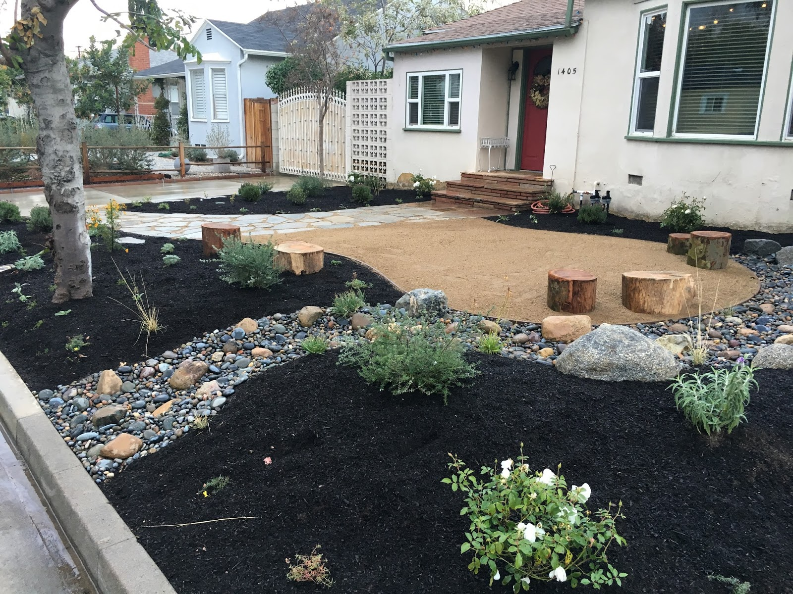 Landscaping Muddy Yard : Fairy yardmother landscape design