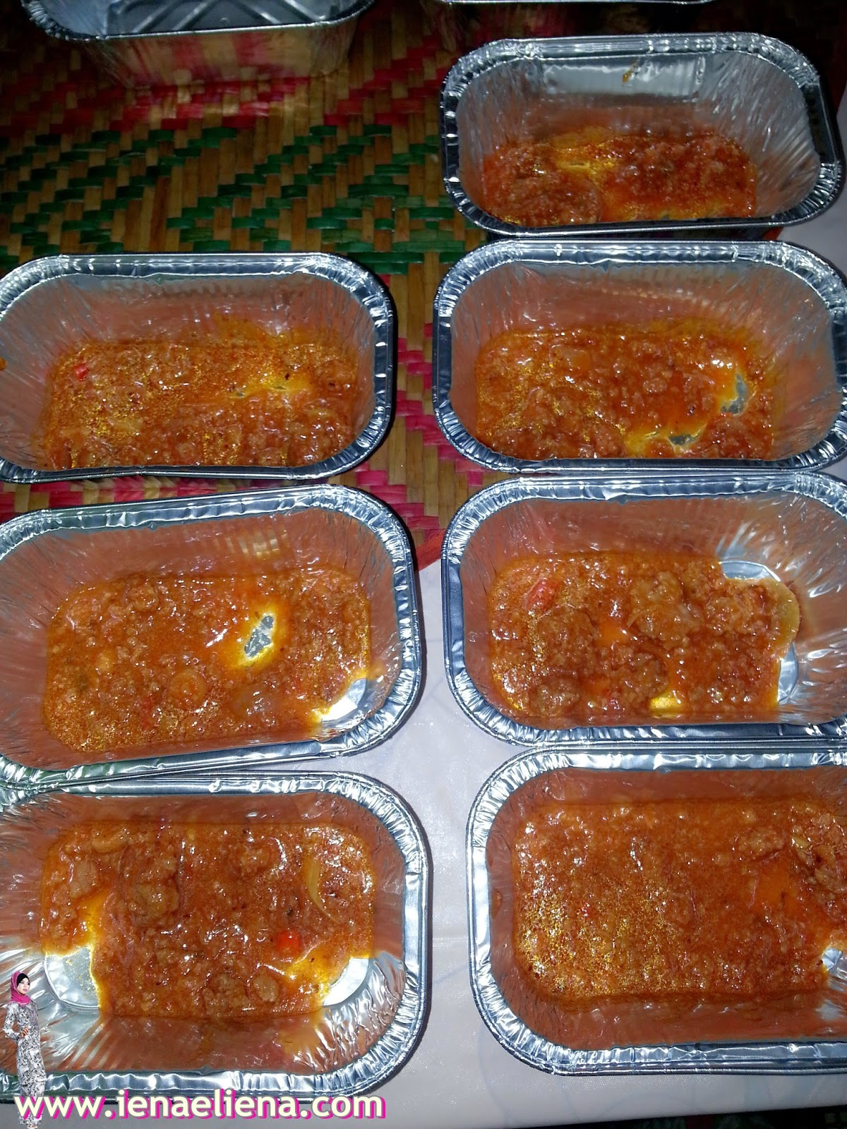 Qaseh Baked Macaroni In The Making