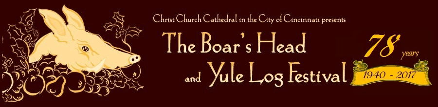 The Boar's Head and Yule Log Festival Blog
