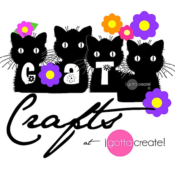 Purrfect cat-themed crafts, decor, fashion, food and baubles for your cat! | Visit I Gotta Create!