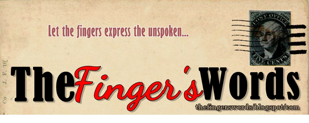 The Finger&#39;s Words