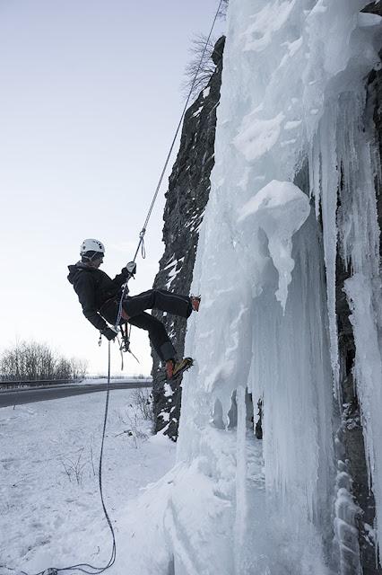 Trolla - Lodospady w Norwegii