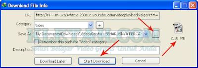 download video 3gp di youtube