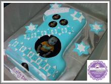 Number 1 Fondant Cake